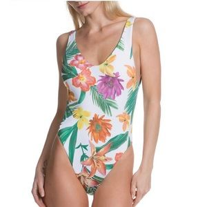 BECCA One Piece Reversible Swimsuit NWT